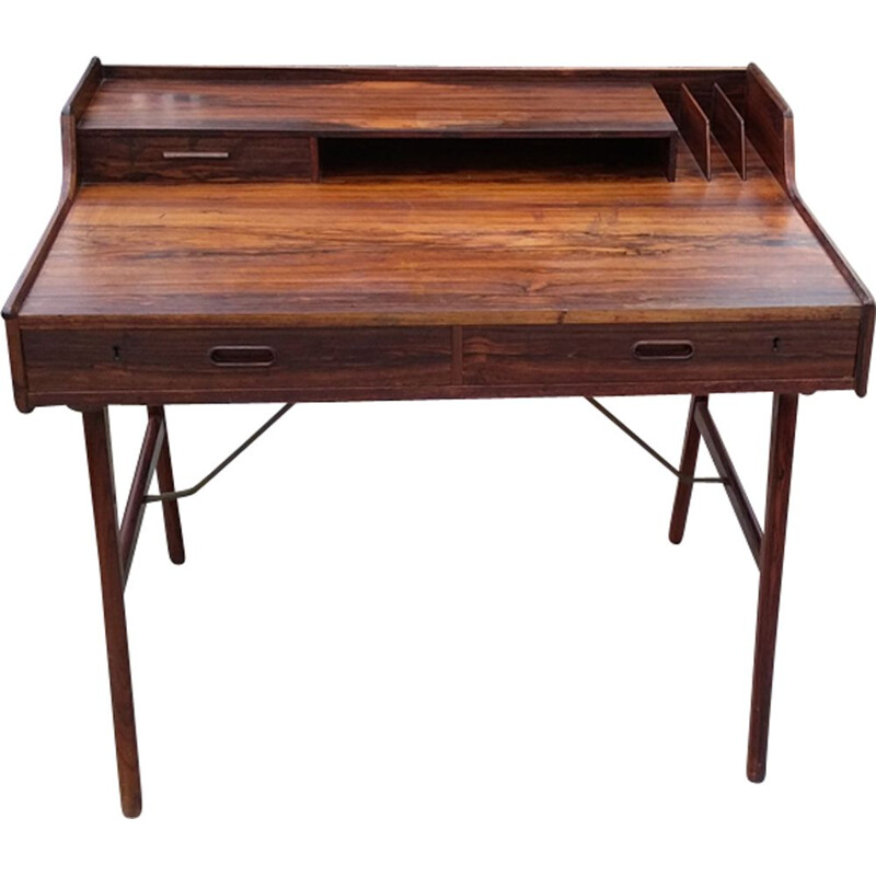 Vintage desk model 56 by Arne Wahl Iversen Vinde Møbelfabrik, 1961