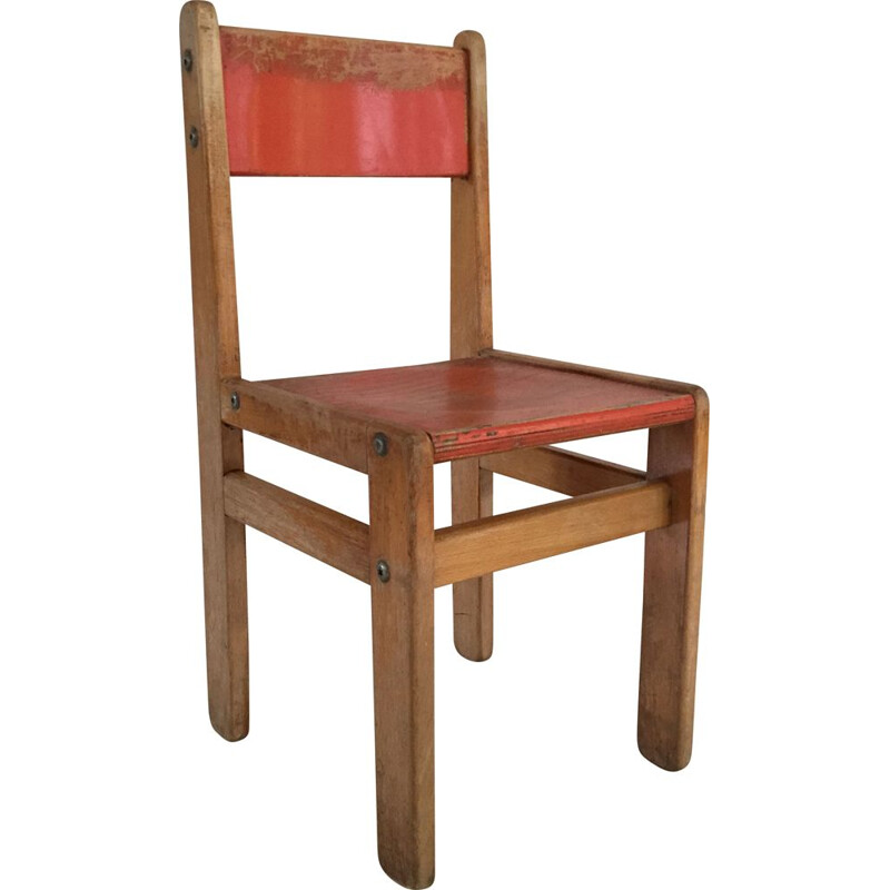 Vintage chairs Child 1970