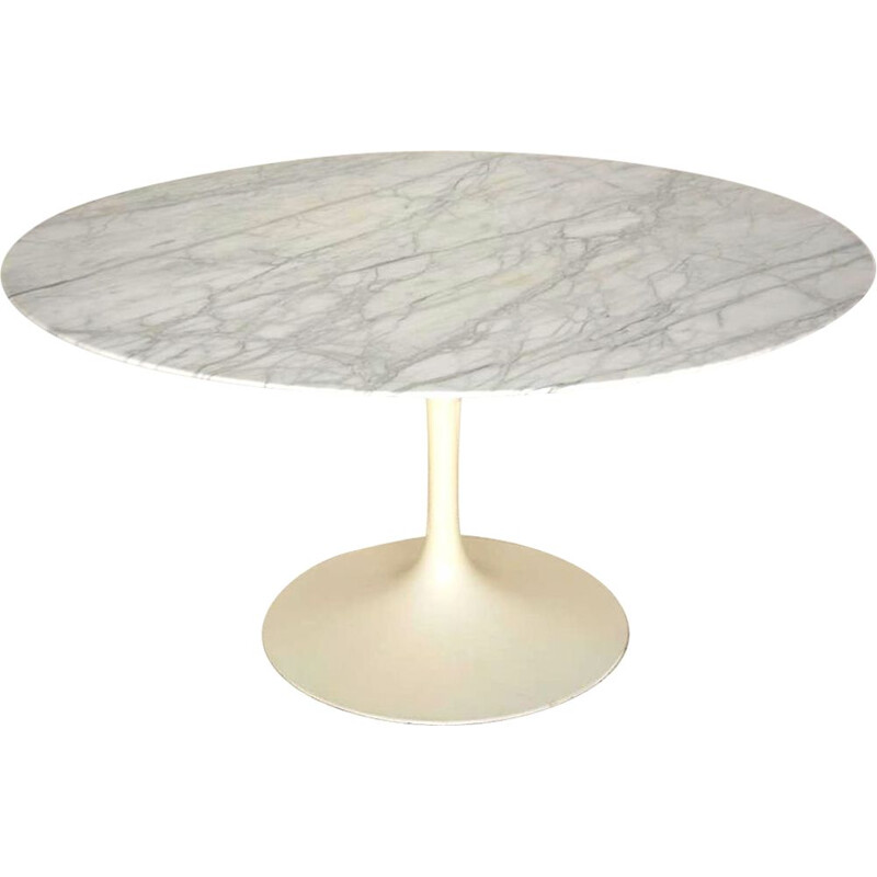 Vintage dining table by Eero Saarinen Knoll international 1960