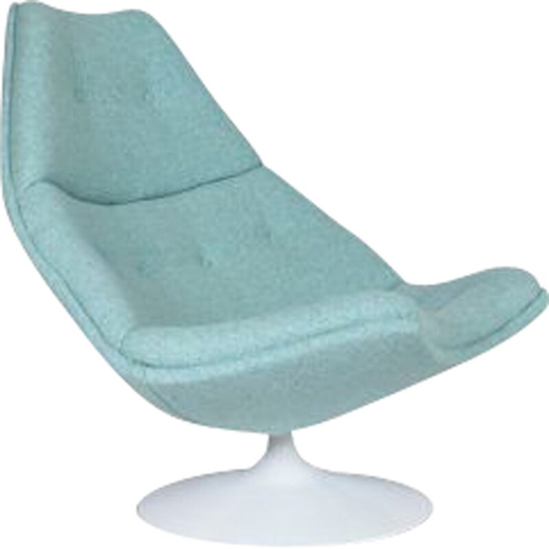 Swivel armchair F590 with Kvadrat – Artifort – G. Harcourt