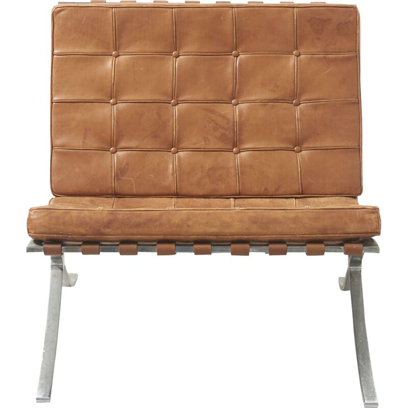 "Vintage armchair ""Barcelona"", Mies Van der Rohe, Knoll International, Germany, 1960"
