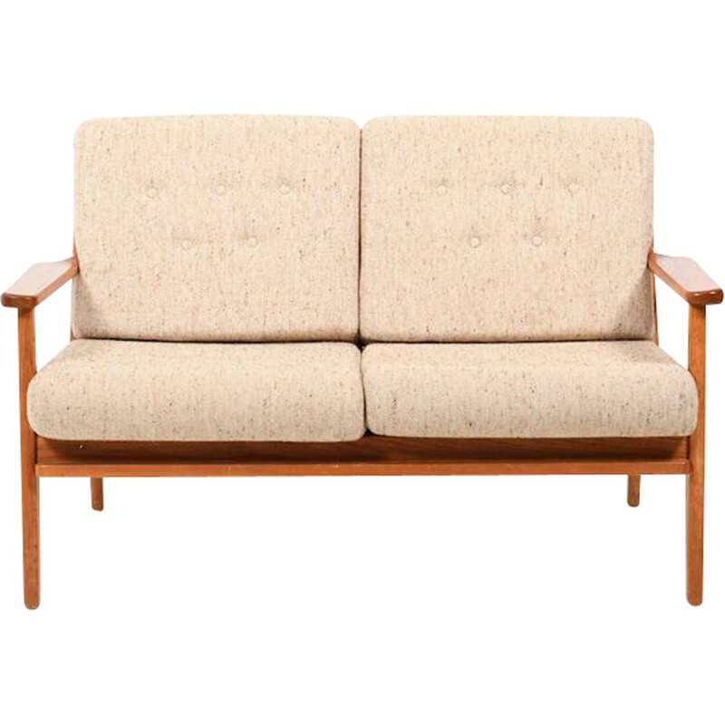 Vintage teak 2 seater sofa, Danish 1960