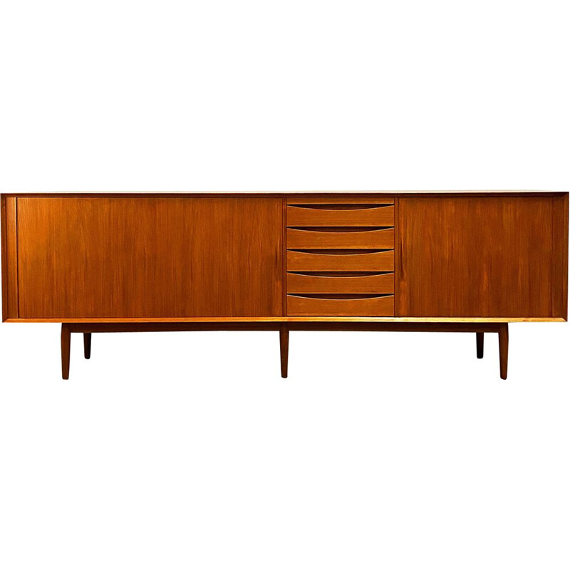 Vintage teak sideboard by Arne Vodder for Sibast 1960