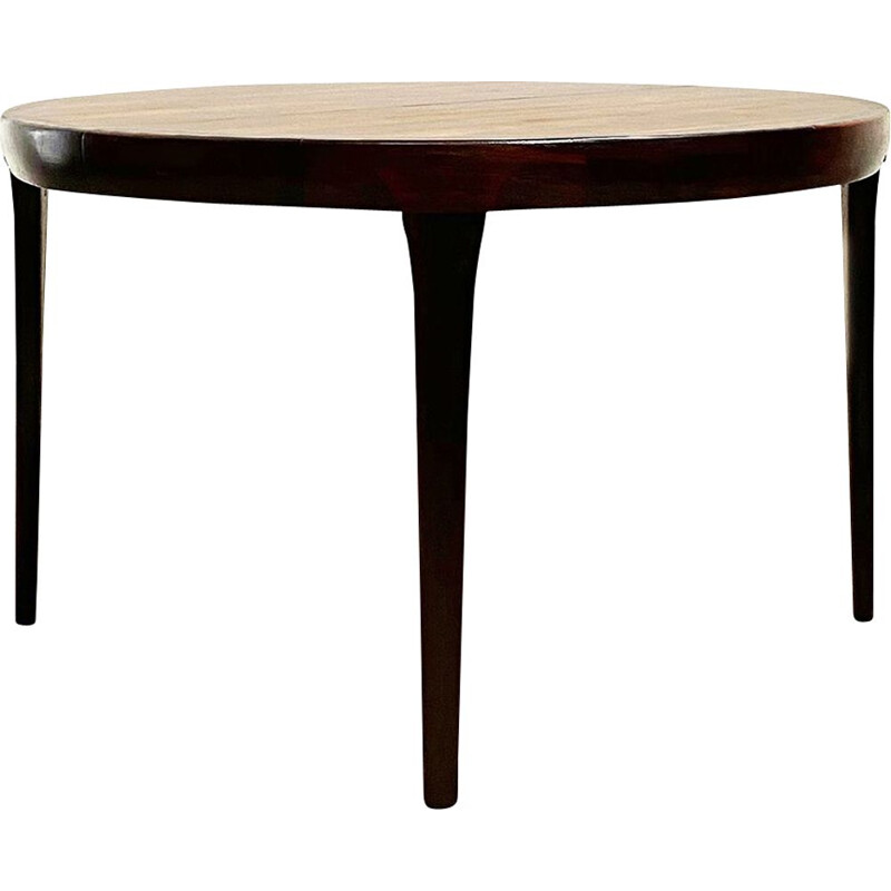 Vintage extensible round table by Ib Kofod Larsen for Faarup