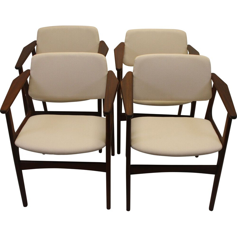 Set of 4 vintage  Arne Vodder dining room chairs Denmark