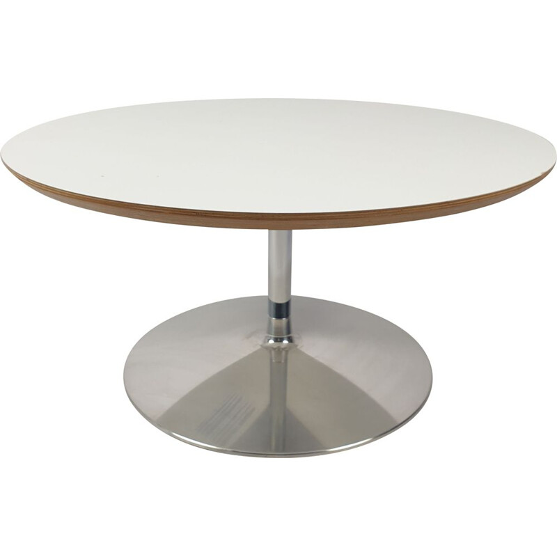 Vintage Round Coffee Table by Pierre Paulin for Artifort, 1990s