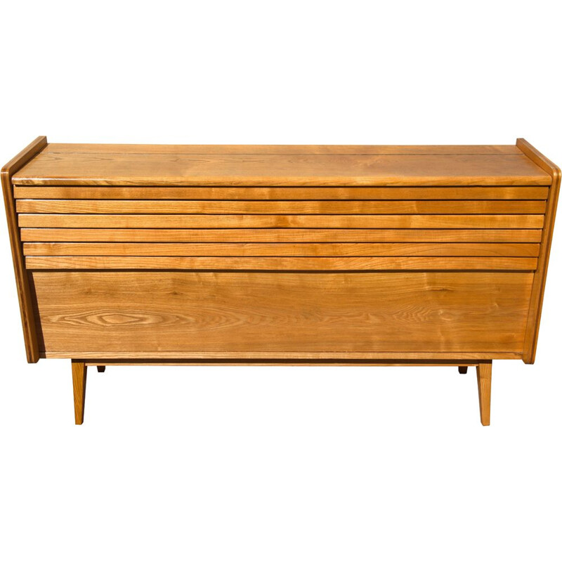 Mid Century Dresser by Bohumil Landsman and Hubert Nepozitek for Jitona 1960s