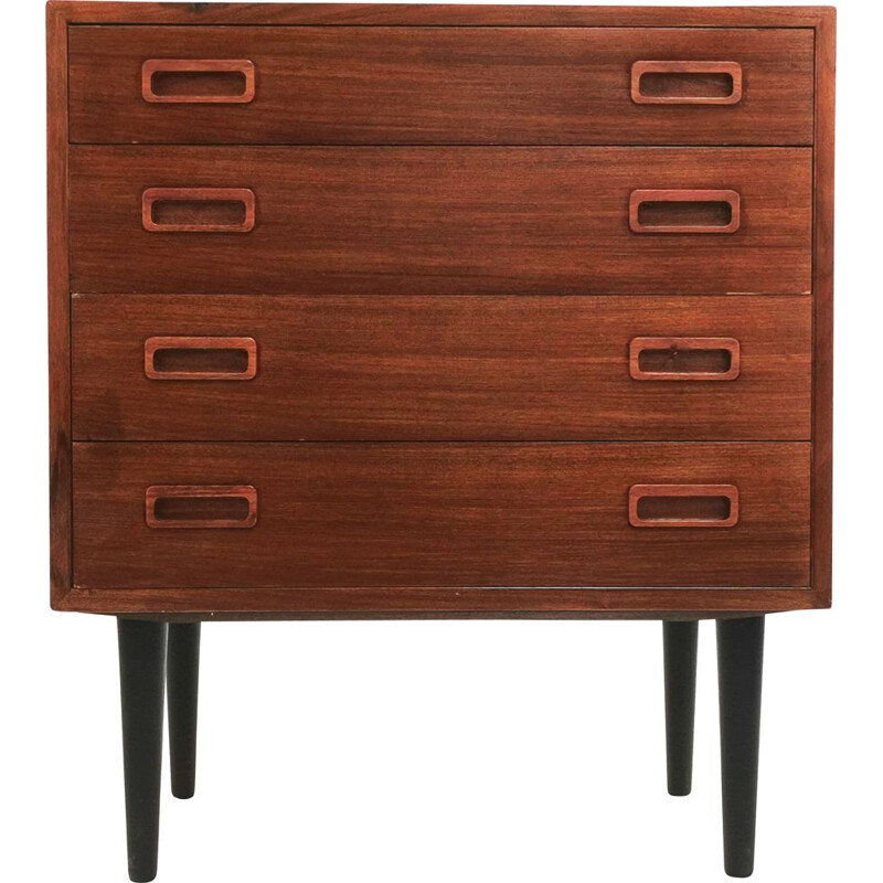 Vintage Hundevad Rosewood Chest of Drawers Danish 1970s