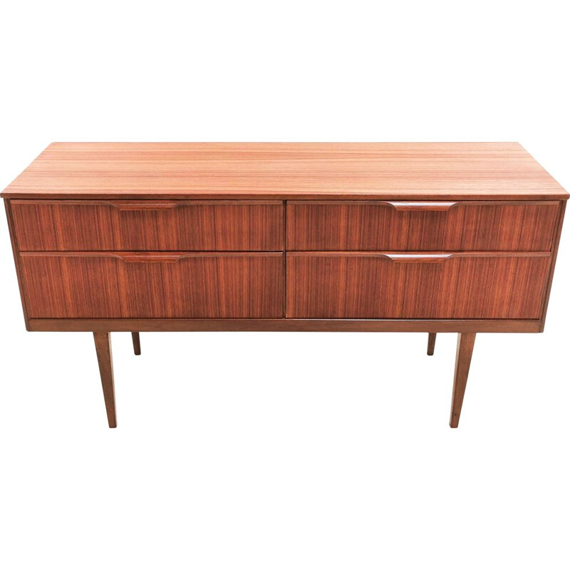 Mid Century Teak  Sideboard Chest of Drawers Frank Guille For Austinsuite 1960s