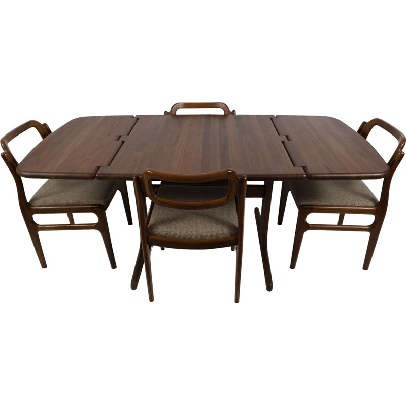 Vintage Dining set by Johannes Andersen for Uldum
