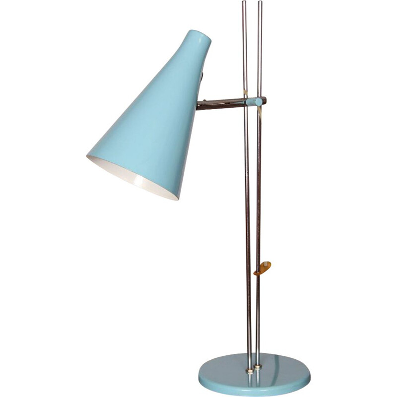 Vintage table lamp by Josef Hurka for Lidokov, 1960