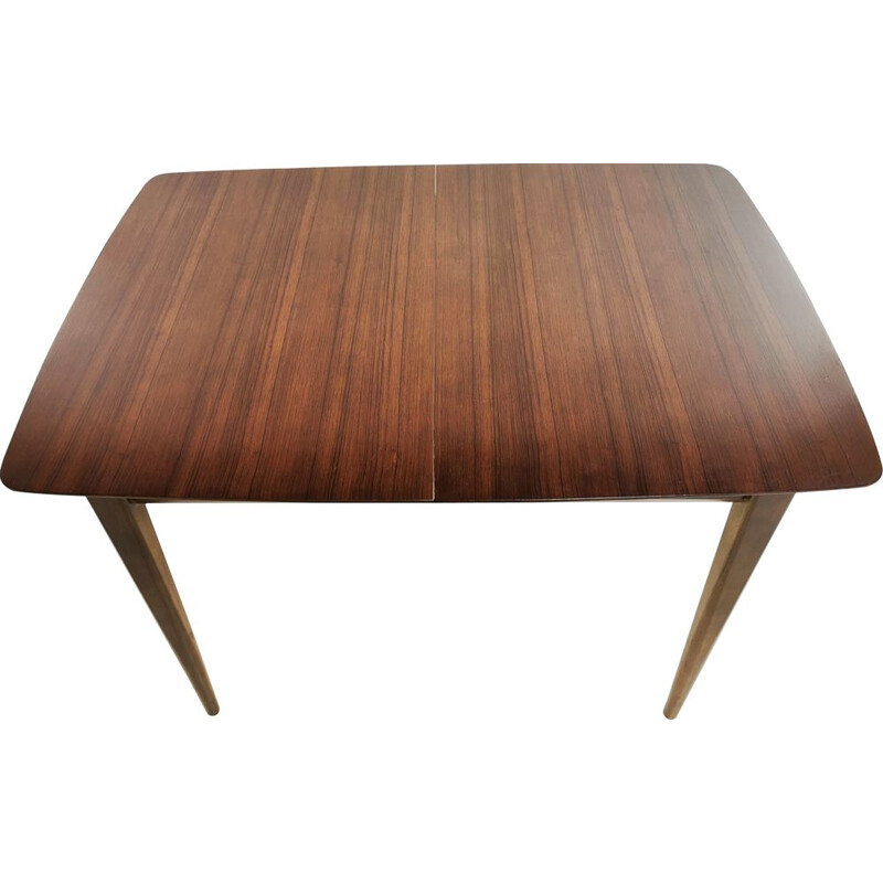 Mid Century Extending Dining Table Wrighton Teak British 1960s