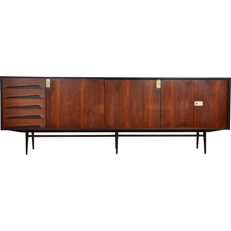 Vintage Sideboard by Vittorio Dassi for Dassi, Italian 1950s