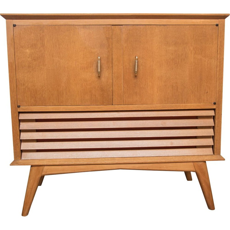Vintage vinyl chest of drawers 1950