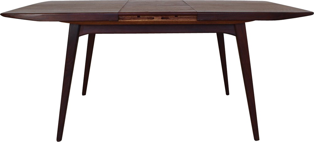 Scandinavian Webe dining table in teak, Louis VAN ...