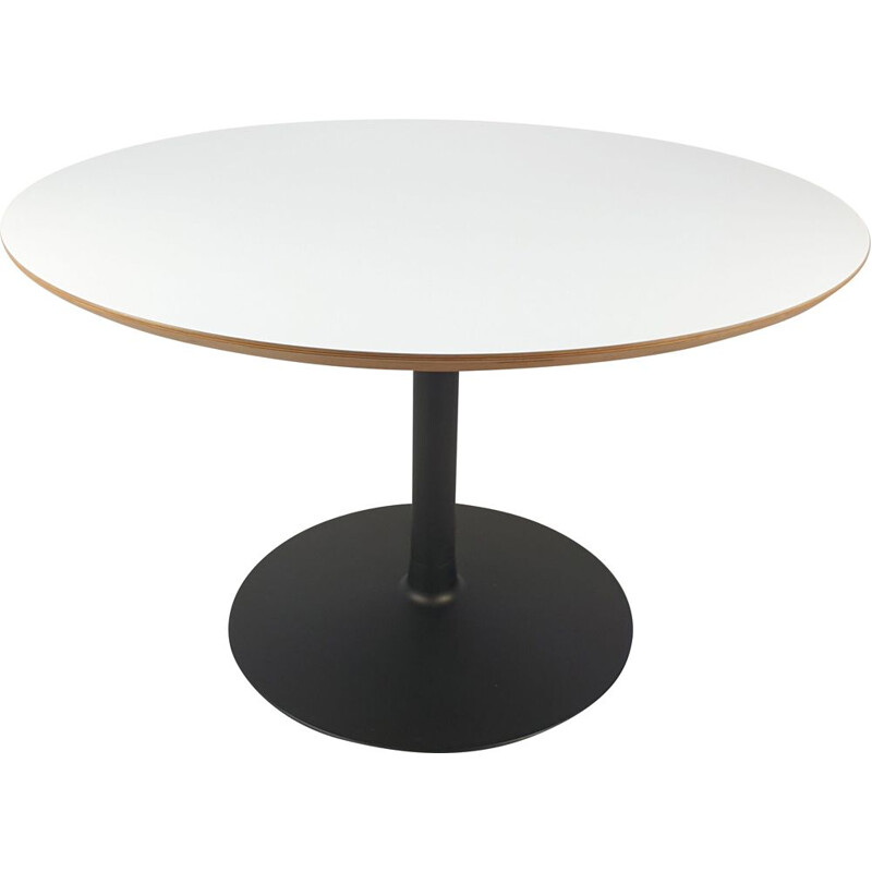 "Vintage Round Dining Table ""Circle"" by Pierre Paulin for Artifort, 1980s"