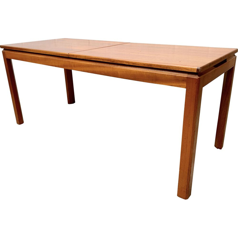 Vintage extensible teak coffee table, Belgium