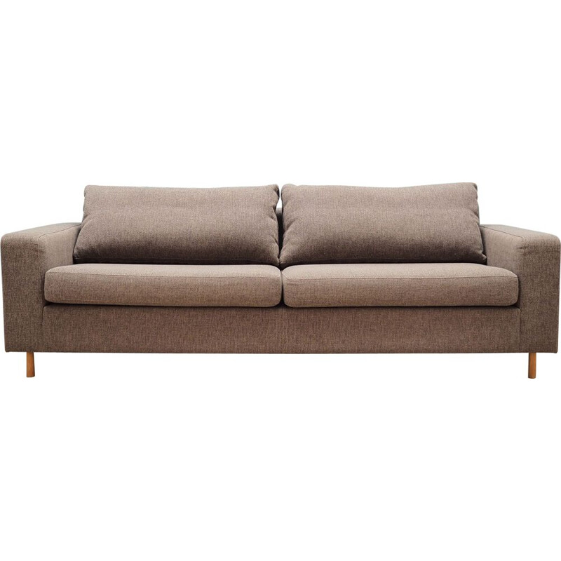 Vintage brown Bolia sofa, Danish 2000