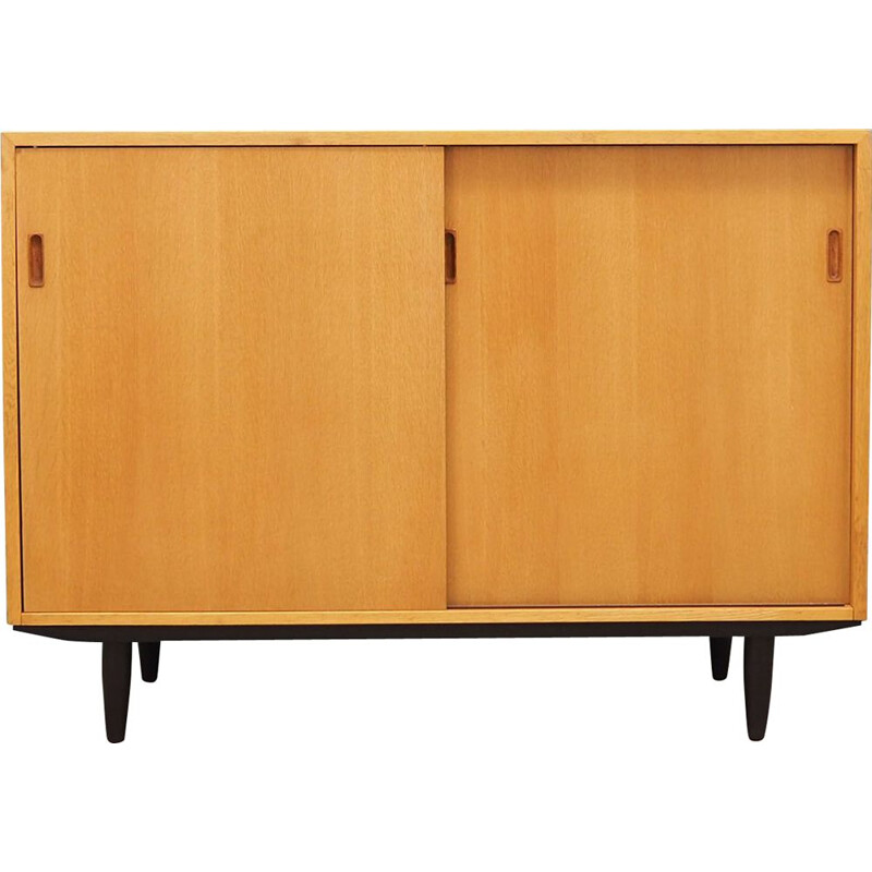 Vintage sideboard in ash wood, Danish 1960