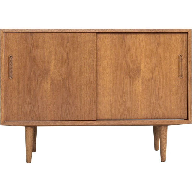 Small vintage oak sideboard by Hundevad, Danish 1960