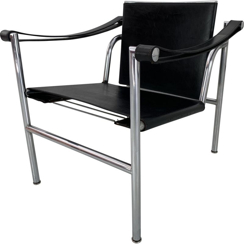 Vintage Armchair LC1 by Le Corbusier 1960