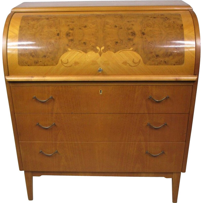 Vintage Secretary Desk, Sweden 1960s