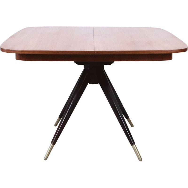 Vintage teak dining table, Sweden, 1960