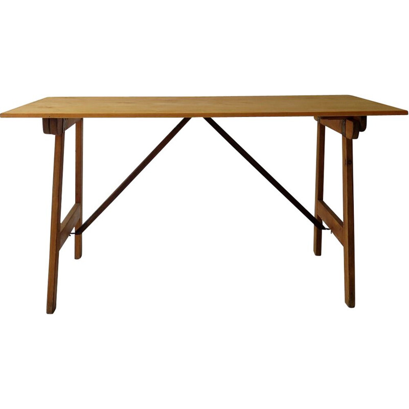 Vintage folding dining table 1950