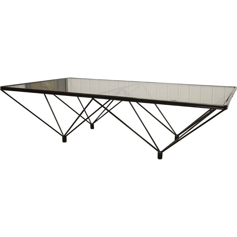 Vintage rectangular coffee table Paolo Piva