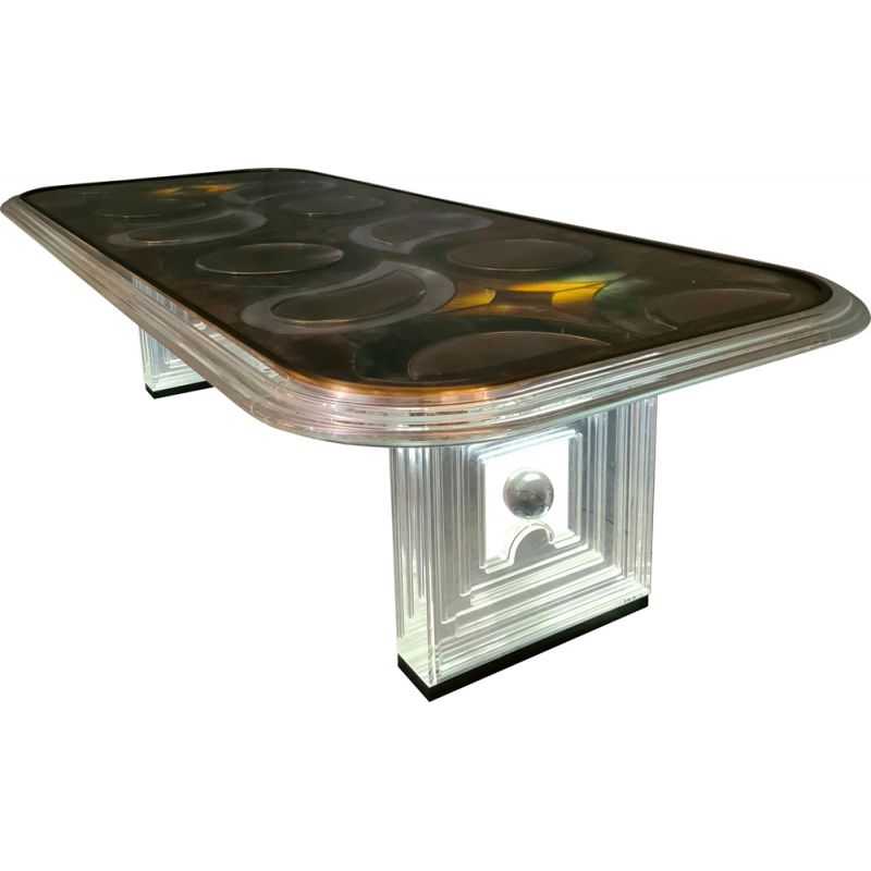 Vintage table by Bruno Martini 1970