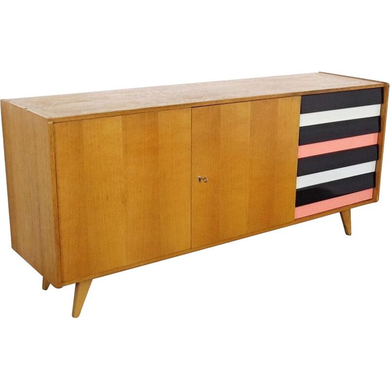 Vintage Chest of drawers Czechoslovakia 1960s