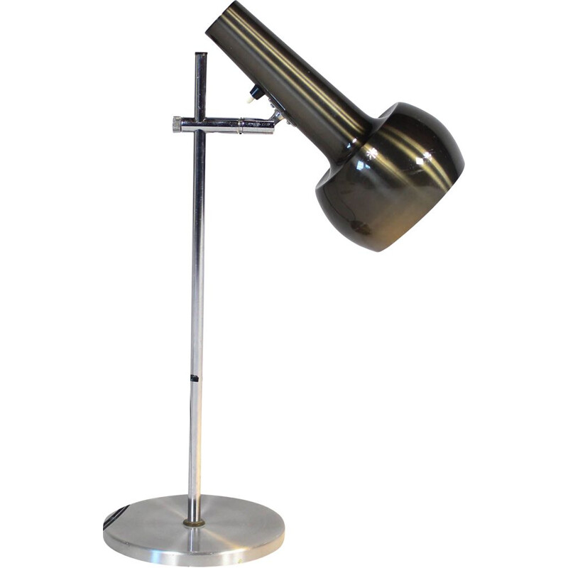 Vintage metal table or desk lamp 1970s