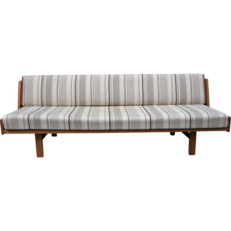 Vintage daybed or 3-seater couch from Hans Wegner for Getama modell 258