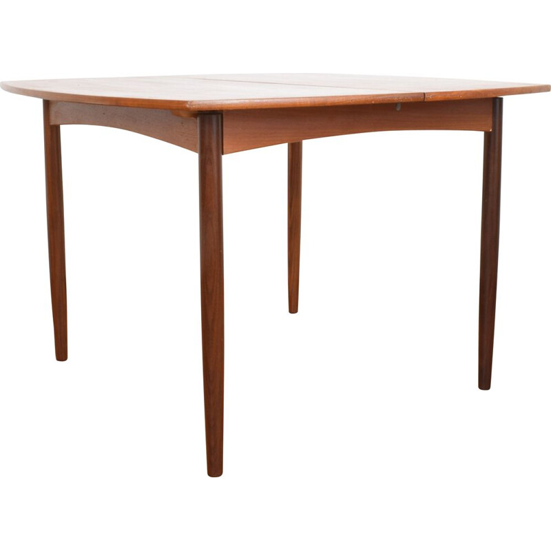 Mid-Century Teak Dining Table Danish 1960s