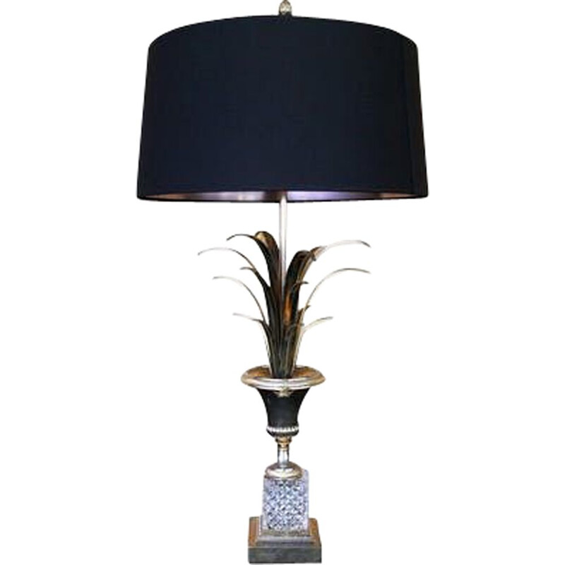 Vintage pineapple lamp Boulanger, 1965