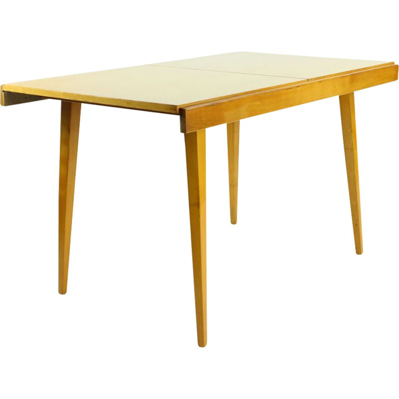 Midcentury Extendable Dining Table By Tatra, Czechoslovakia 1960s
