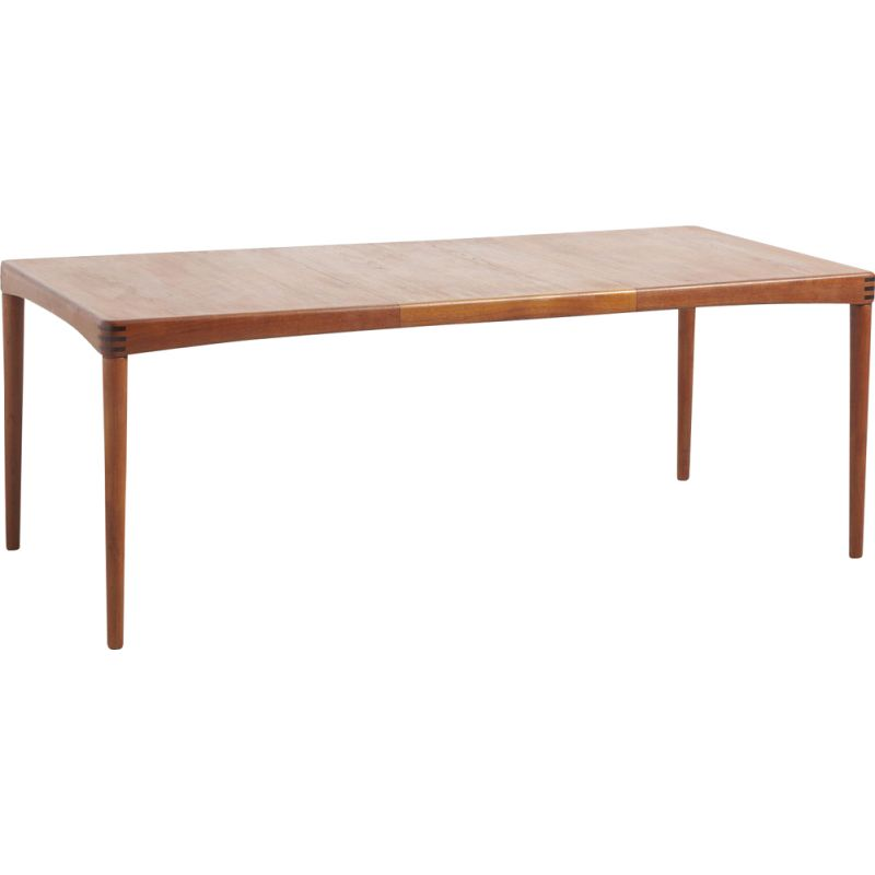 Vintage Dining Table in Teak by H.W. Klein for Bramin, Denmark 1950s