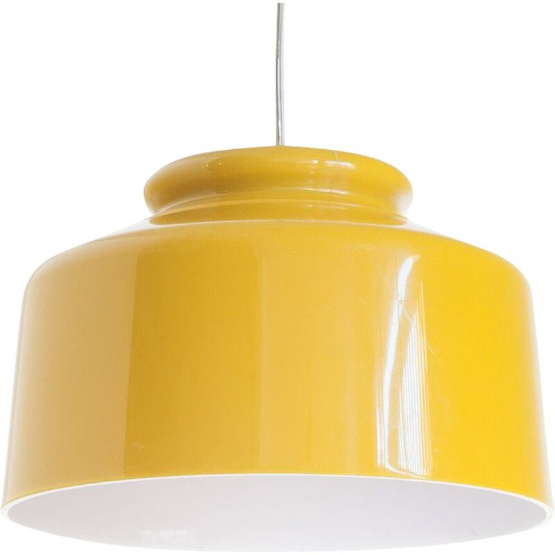 Vintage plastic ceiling light by Metalarte, Spain, 1970