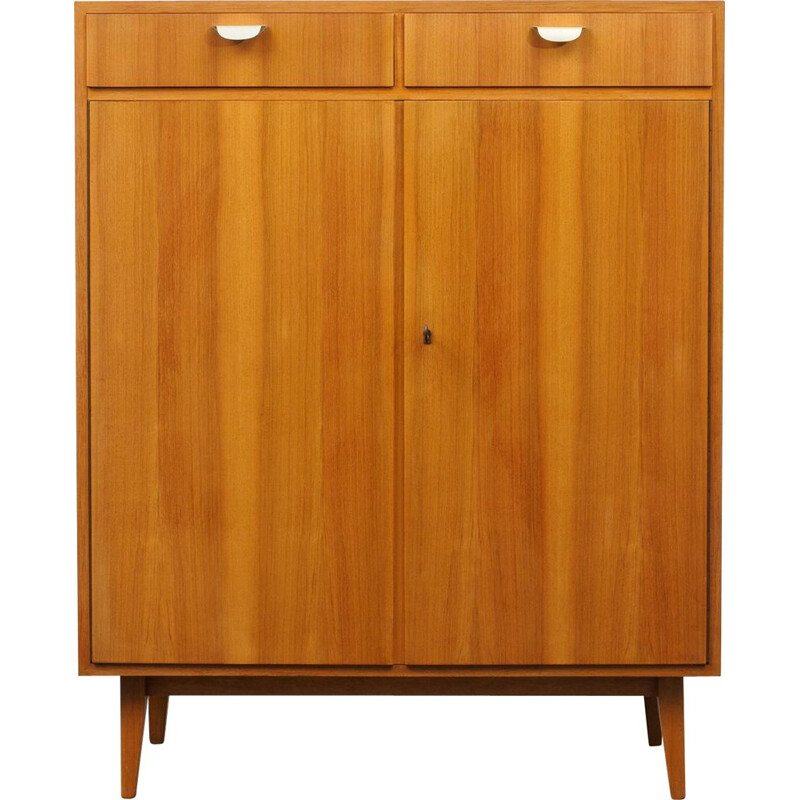 Mid Century highboard  dresser walnut 1950s