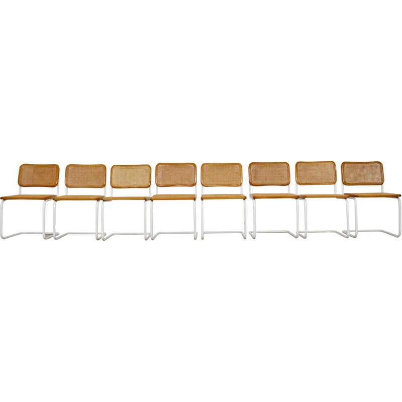 Set  8 vintage Dinning Chairs B32 By Marcel Breuer