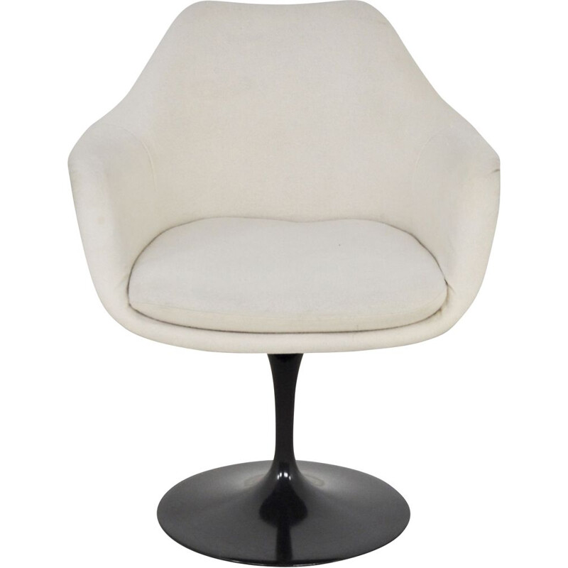 Vintage Armchair for Knoll International Black Eero Saarinen 1960s