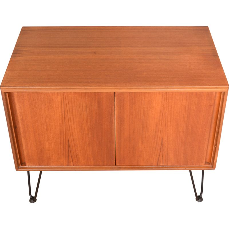 Vintage Teak Sideboard  G Plan Five Form TV Cabinet Hair Pin Legs 1960s