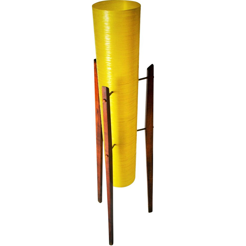 Mid Century Floor Lamp Space Age Czechoslovakia
