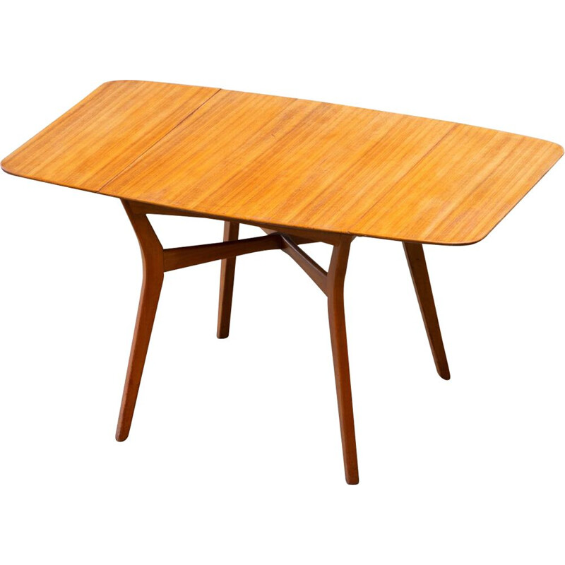 Vintage Scandinavian Oak Table 1960