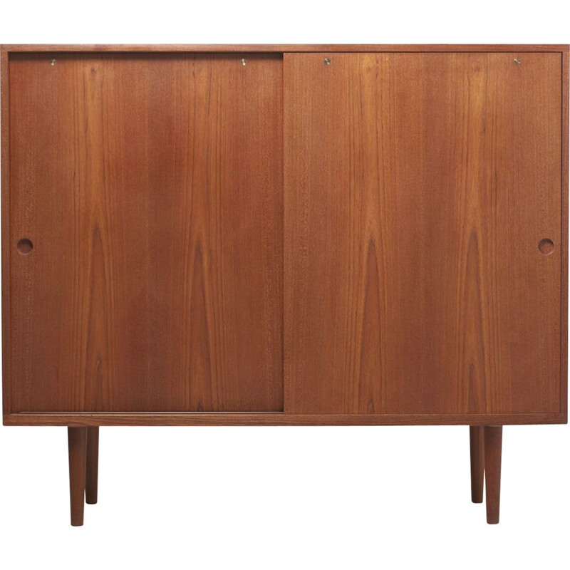 Vintage High Sideboard by Hans J. Wegner for RY Møbler Denmark 1950s