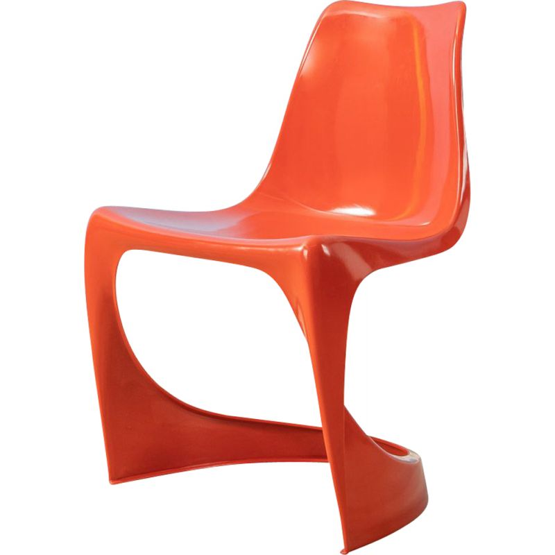 Vintage cantilever chair 290 by Steen Ostergaard for Cado 1970s