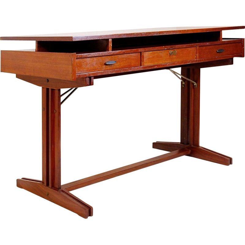 Vintage Double Face desk, Italy 1960