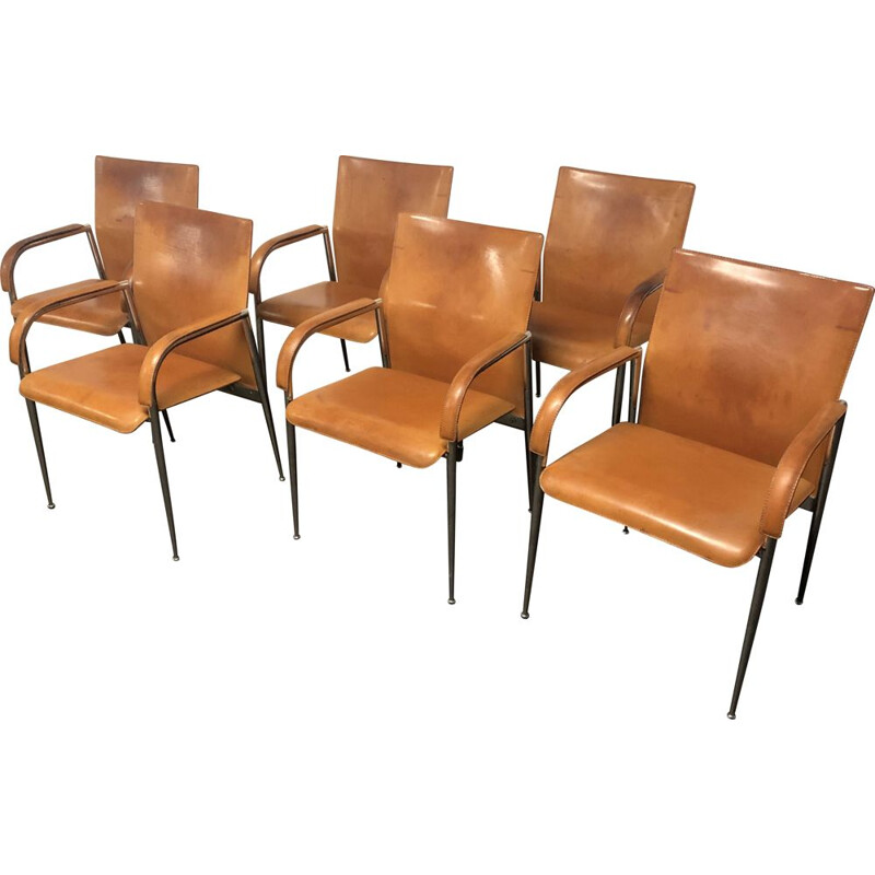 Set of 6 vintage chairs Fasem