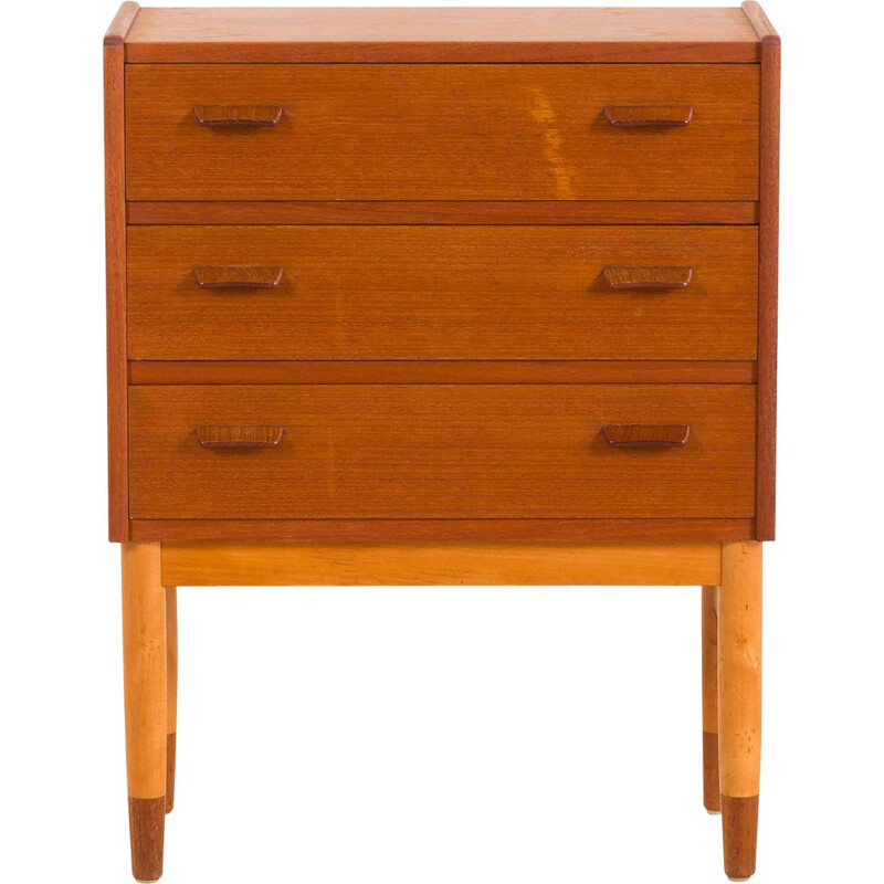 Vintage Chest of drawers or a nightstand by Carl Aage Skov, Denmark, 1960s