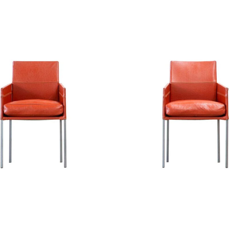 Pair of Vintage armchairs by Karl Friedrich Förster for KFF
